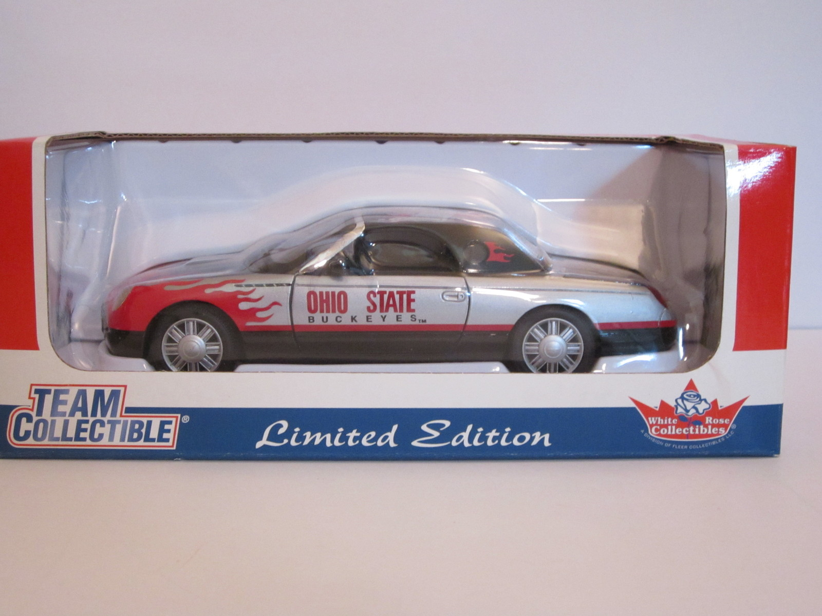Primary image for 2002 Ohio State Buckeyes Ford T-bird 1:24 Scale Limited Edition by White Rose