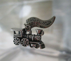 Sterling Silver Bracelet Charm  STEAM ENGINE TRAIN  Grand Canyon Steampu... - $54.45