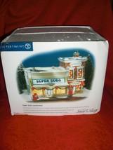Dept 56 Super Suds Laundromat #55006 Orig Snow Village New              ... - $44.99