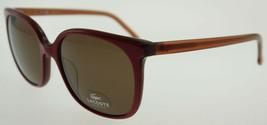 LACOSTE Red Wine / Brown Sunglasses L602S 615 - $77.91