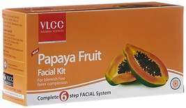 VLCC Papaya Fruit Facial kit 60G Complete 6 Step Facial System - $9.49