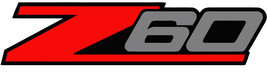 2 - Z60 Chevy Decal Sticker for Silverado or any Truck 4x4 - $10.89