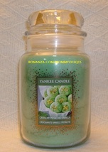 Yankee Candle Crunchy Pistachio Vanilla Cookie Swap 22 Oz European White... - $24.00