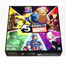 5 Minute Marvel Board Game by Cardinal Spin Master Games - $29.99