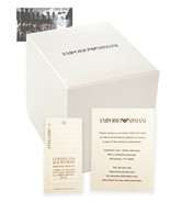 EMPORIO ARMANI Empty Watch Display Box & Booklet Only - $19.99