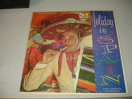 Holiday In Spain - Lew Raymond Orchestra (LP Undated) Rare Yellow Vinyl ... - $9.89