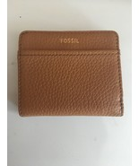 FOSSIL TESSA Leather Bifold Wallet Women's Medium Cognac New NWT - $30.00