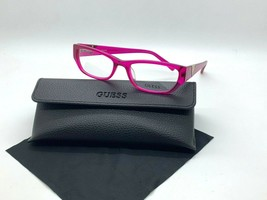 Authentic Guess GU2387 Pnk Crystal Pink 51-17-140MM Eyeglasses /CASE+ Cloth - $31.78