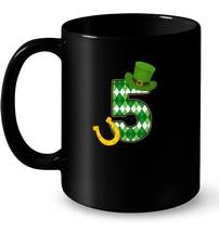 St Patricks Day 5 Years Old Birthday Irish Shamrock Gift Coffee Mug - $13.99+