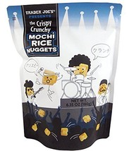 Trader Joe's New The Crispy Crunchy Mochi Rice Nuggets 6.35oz (1 Pack) - $9.89