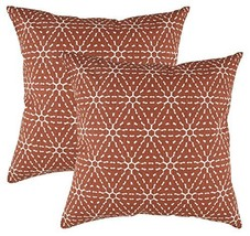 TreeWool 2 Pack Throw Pillow Covers Hexagonal Honeycomb Accent Decorativ... - $16.99