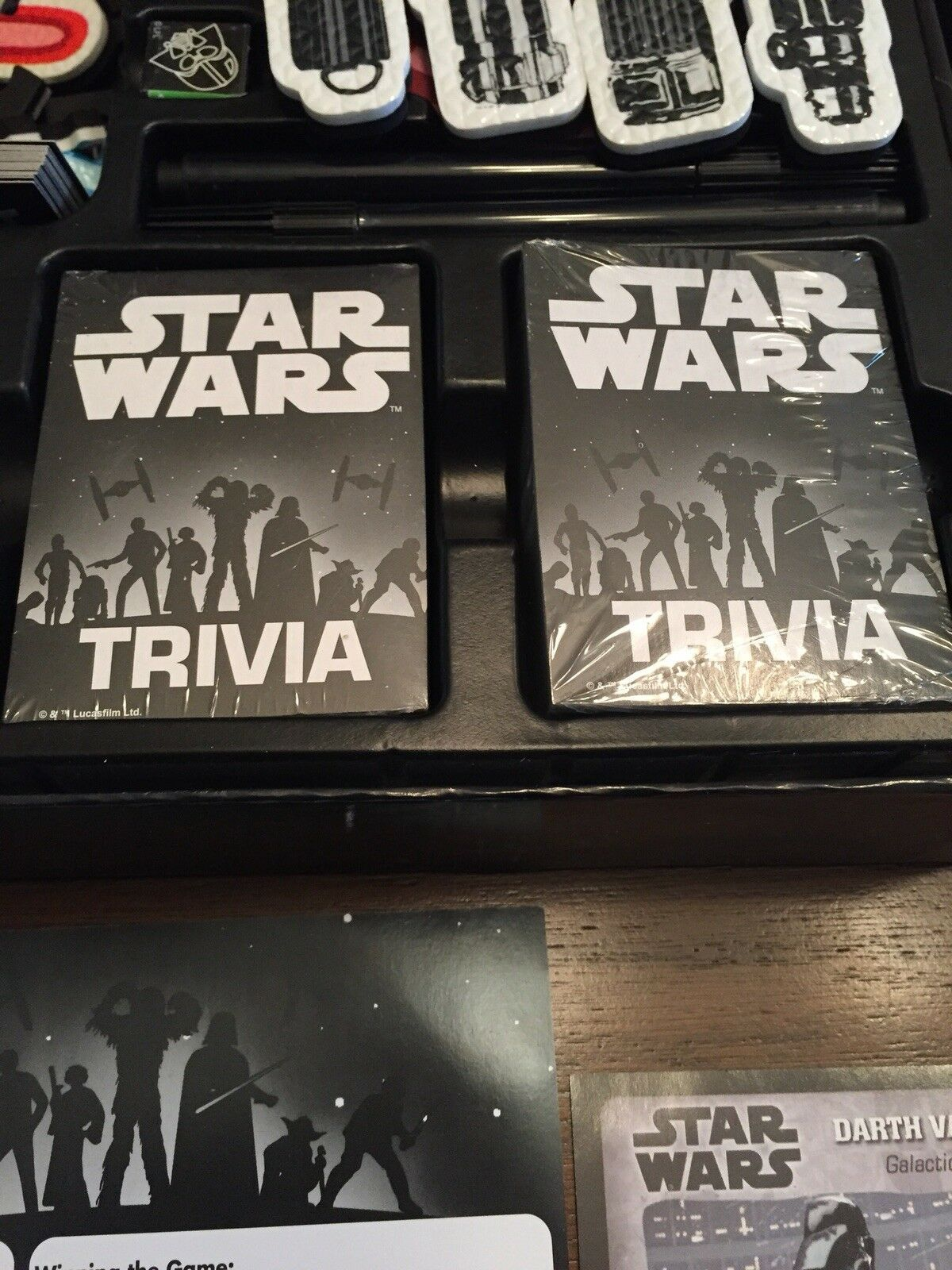 Star Wars Trivia Game Board Game Darth Vader Disney Pre-Owned Great Condition image 5