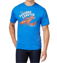 G.H. Bass & Co. NEW Mens Lobster Crewneck T Shirt Large L Nautical Blue $30 - $9.74