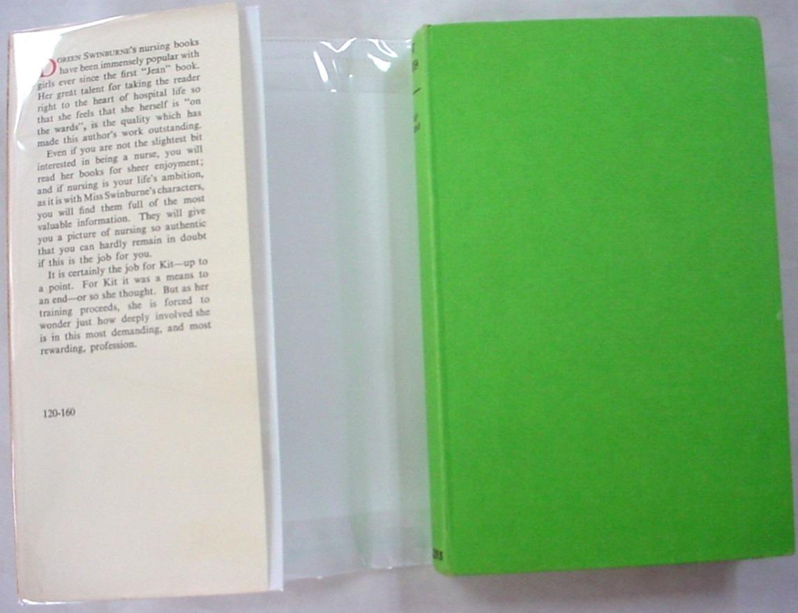 Kit at Kerminster a career novel Collins 1st edition hcdj Doreen Swinburne htf