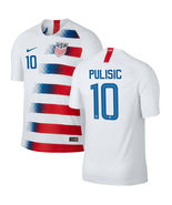 USA PULISIC # 10 home Soccer Jersey man Adult set for World Cup man 2018... - $28.98