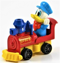 Walt Disney Production TOMY Toy No. PD-4 Donald Duck in a Train Engine - $14.84