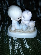 E9259 - WE'RE IN IT TOGETHER -PRECIOUS MOMENTS, 1982- FLOWER - $17.50