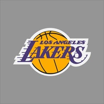 Los Angeles Lakers NBA Team Logo Vinyl Decal Sticker Car Window Wall Cornhole - $6.28+