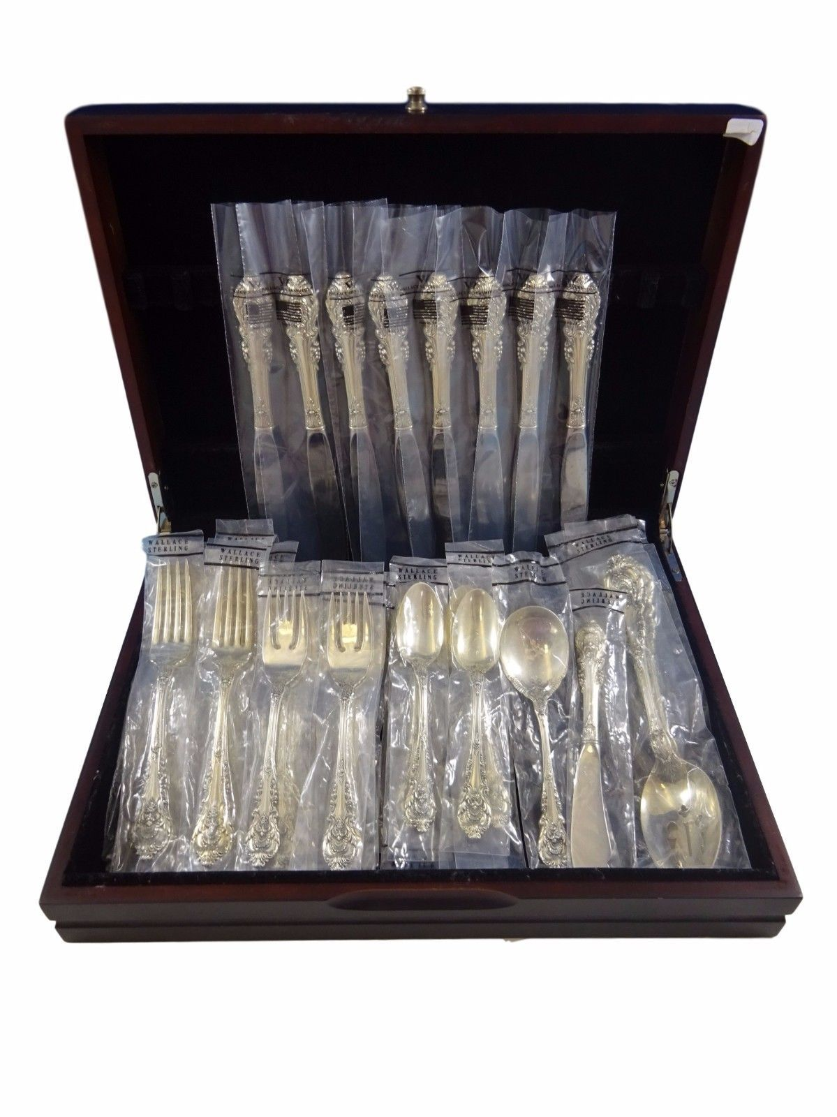 Sir Christopher by Wallace Sterling Silver Flatware Service Set 36 Pieces  New - $1,876.73 · Advanced search for Antiquecupboard Flatware - Antiquecupboard Flatware: 166 Listings