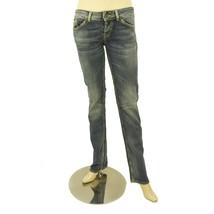 Dondup Blue Stand Art Denim Jeans Distressed Trousers Pants sz 27 P147 0... - $95.72