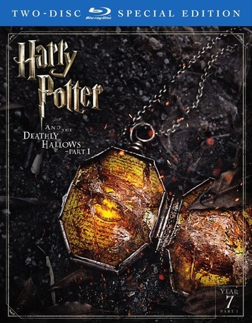 Harry Potter & The Deathly Hallows-P1 (Blu-Ray/Digital Hd/Ultraviolet/Se)