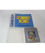 Donkey Kong Nintendo Original 1994 GameBoy w/ Plastic Case - Instruction... - $19.99