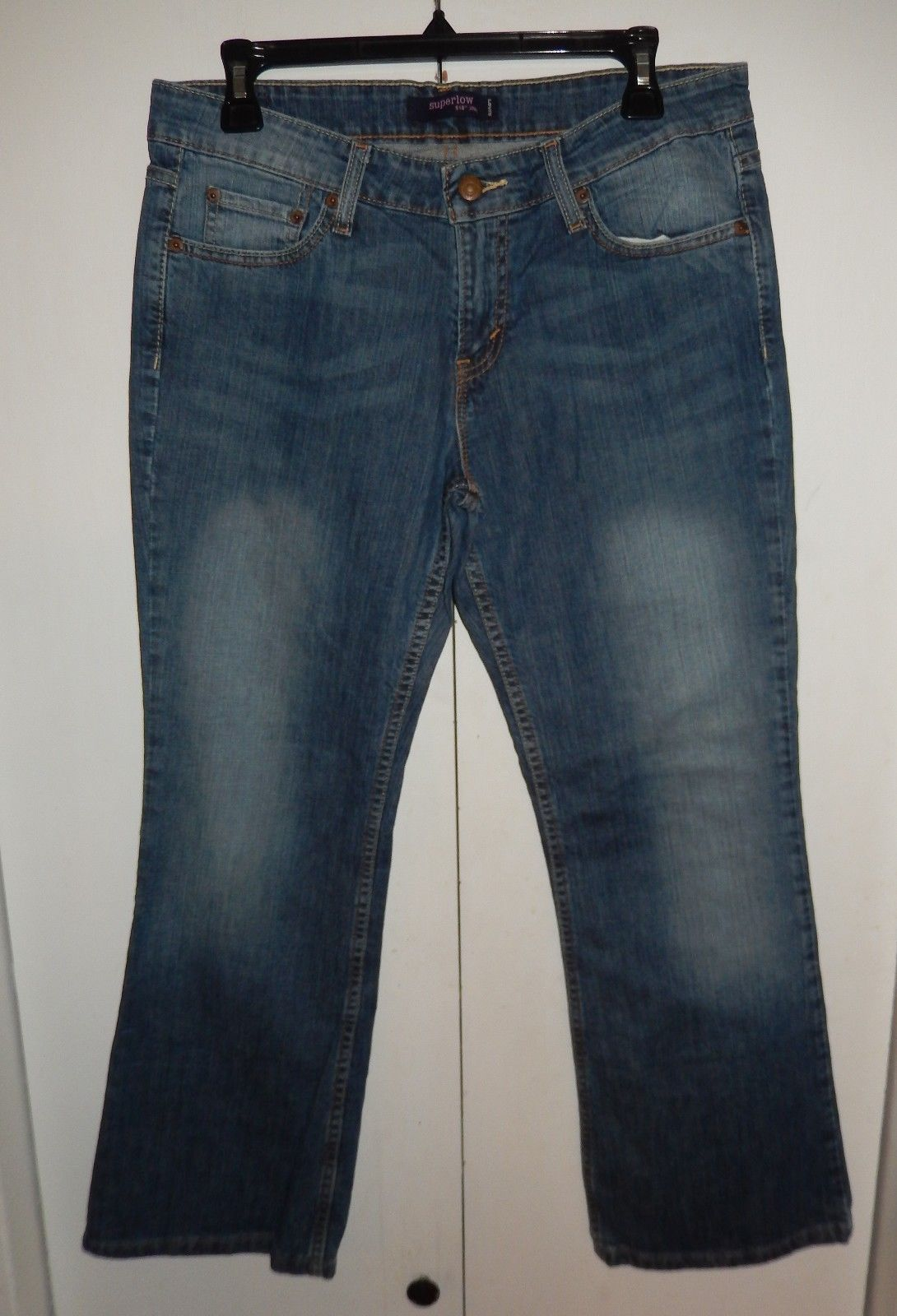 1880f677 Levi's 518 Superlow Bootcut Jeans Junior and 20 similar items. S l1600