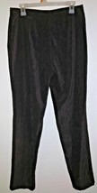 NEW! Express Bleus Women's Slacks Microfiber Feel Brown 13/14 Skinny Flat Front - $7.00