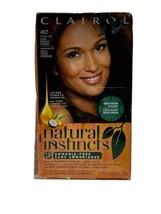 Clairol Natural Instinct 4BZ/27A Dark Bronze Brown Semi Permanent Hair D... - $19.79