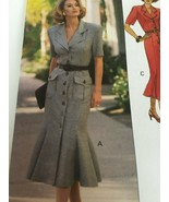 Butterick Sewing Pattern 6745 Beau David Misses Dress Easy Career Uncut ... - $11.70