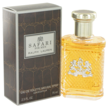 Ralph Lauren Safari 2.5 Oz Eau De Toilette Cologne Spray - $50.97