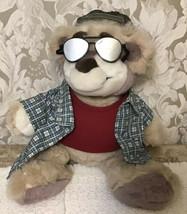 Real Talkin' Bubba Wisecracking Smart Aleck Talking Plush - Sunglasses & Chair - $39.59