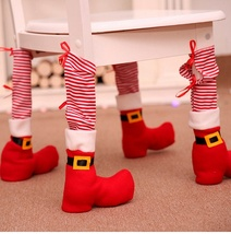 Chair Foot Covers Christmas Decor For Home Christmas Table Decor Ornamen... - $13.00
