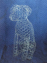 Pit Bull Topiary Frame (small sitting)  - $65.00