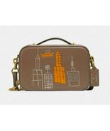 Coach x jean-michel basquiat alie belt bag Leather City Box Crossbody ~NWT 6916 - $321.75