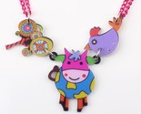 Acrylic pattern 2016 news accessories spring summer cute animal design girls woman thumb155 crop