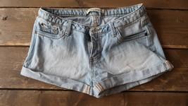 Forever 21 Blue Jeans Short Shorts Size 27 - $14.85