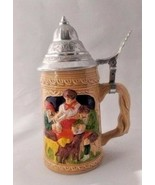 Collectible Family Picture with Dogs Stein - $14.99