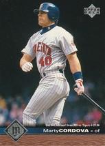 1997 Upper Deck #104 Marty Cordova - $0.50