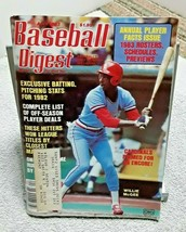 Baseball Digest April 1983 Willie McGee St Louis Cardinals cover - $7.91
