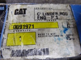 Genuine Caterpillar Cylinder Rod End 0091971 image 2