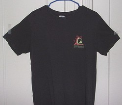 Quiksilver Mens Medium Embroidered 100% Cotton Graphic T Shirt - $8.96