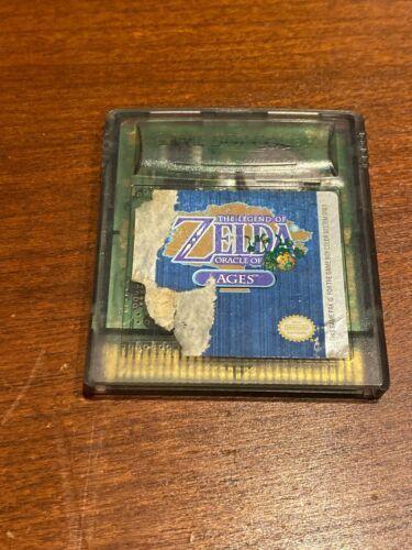 Legend of Zelda: Oracle of Ages (Nintendo Game Boy Color, 2001) Untested