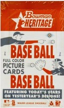 2006 Bowman Heritage Baseball Box Look 4 Hobby Exclusive Hand Numbered #... - $159.95