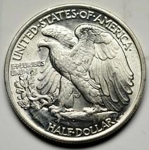 1943 Walking Liberty Half Dollar 90% Silver Coin Lot# A 232 image 2