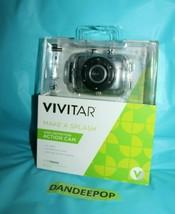 Vivitar HD High Definition DVR-783 HD Action Camera in Waterproof Case 5MP - $54.44