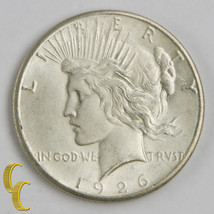 1926-S $1 Silver Peace Dollar (Choice BU Condition) Brilliant Full Mint Luster! - $78.21