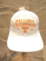 University Tennessee 1998 Champion Cap~One Size~Snap Adjust~Curved Bill~Nwt - $14.88