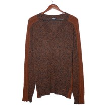Dolce & Gabbana Brown Wool Jumper V-Neck Sweatshirt Long Sleeve Pullover... - $176.40