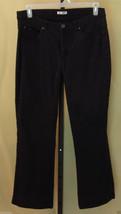 "Lee Womens Black Pants Cotton Stretch 14 Medium Inseam=27-3/4"" EUC 21085E - $5.99"